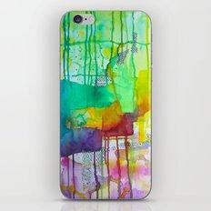Rainbow Drip iPhone & iPod Skin