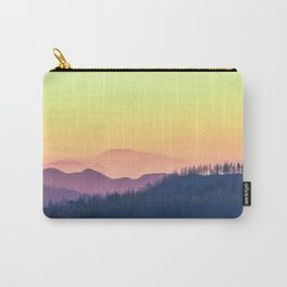 Calm Yellow Sunset Carry-All Pouch