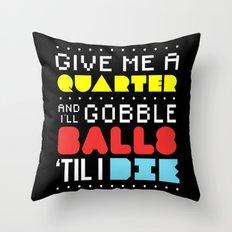 'Gobble Gobble' Throw Pillow