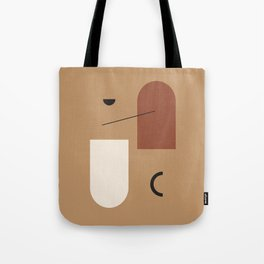 The window of the soul - Modern hand drawn abstract art illustration Tote Bag