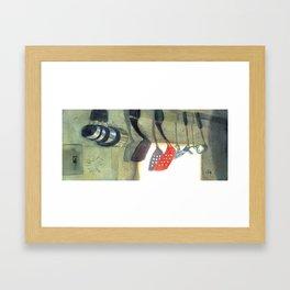 Kitchen Utensils Framed Art Print
