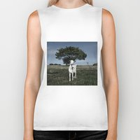 goat Biker Tanks featuring Goat by Ana Francisconi