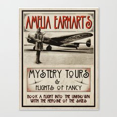 Mystery Tours & Flights of Fancy Canvas Print