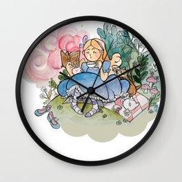 Alice reads Wall Clock