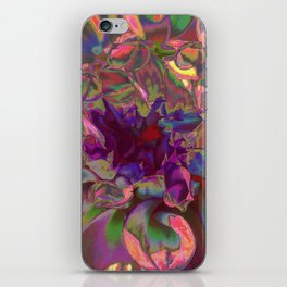 """Extreme Dahlia """"Miss Molly"""" iPhone Skin"""