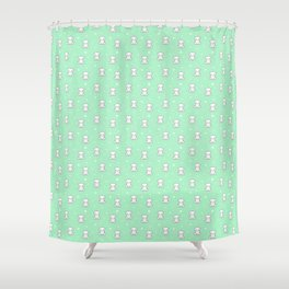 Cute baby bear Shower Curtain