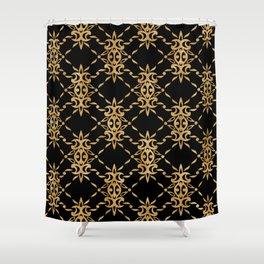 Classique Art Deco Luxury Pattern Shower Curtain