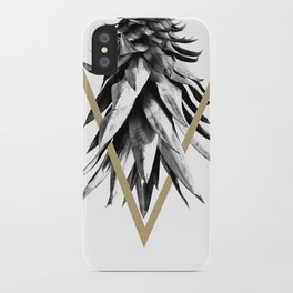 Pineapple Upside Down Geo #1 #tropical #fruit #decor #art #society6 iPhone Case