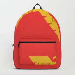 i am fire and life incarnate now and forever i am dark phoenix Backpack