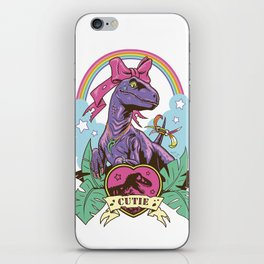 Jurassic Cutie iPhone Skin