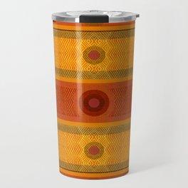 """Ethnic Pattern Warm Tones II"" Travel Mug"