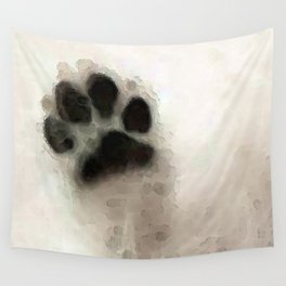 I Paw You - Dog Art By Sharon Cummings Wall Tapestry