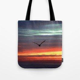 Black Gull by nite Tote Bag