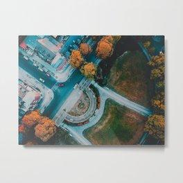 Berlin Frohnau Aerial View Metal Print