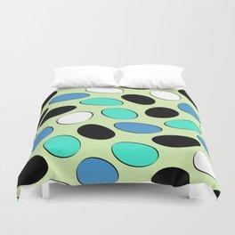 Polka Dotts Colorful Pattern Duvet Cover