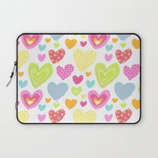 spring hearts Laptop Sleeve