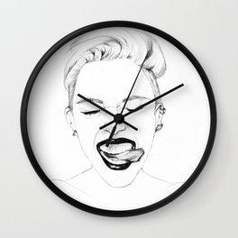 Miley Wall Clock