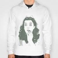 dorothy Hoodies featuring Dorothy by Prints_by_Gabriel