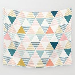 Modern Geometric Wall Tapestry