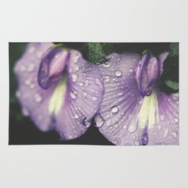 Nostalgic Purple Rug