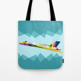 Colorful Jets Tote Bag