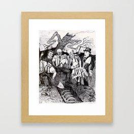 Tragedy of Highbar Harbor Framed Art Print