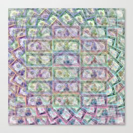 1 Billion Dollars Canvas Print