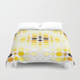 Stone Wall (Cockatoo Yellow) Duvet Cover