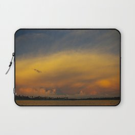 Stormy Sunset in Naples, Florida Laptop Sleeve
