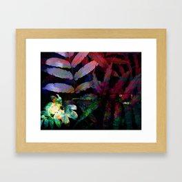 Tropical Night Framed Art Print