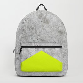 Concrete Arrow - Neon Yellow #521 Backpack
