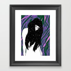 The Universe Within Framed Art Print