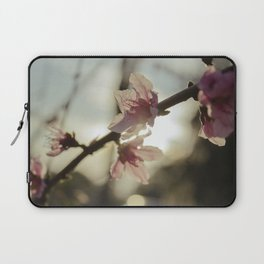 Peach Blossoms Laptop Sleeve