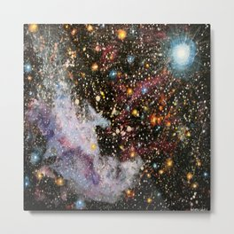 Witch Head Nebula Metal Print