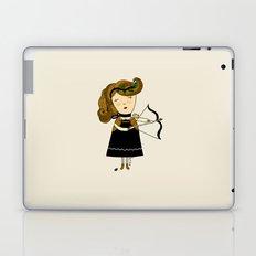 Sagittarius Girl Laptop & iPad Skin