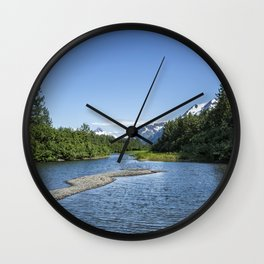 Portage Creek, No. 1 Wall Clock