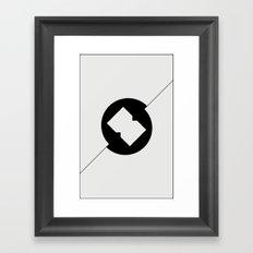 Break Spot Framed Art Print