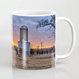 Grain Bin Sunset Coffee Mug