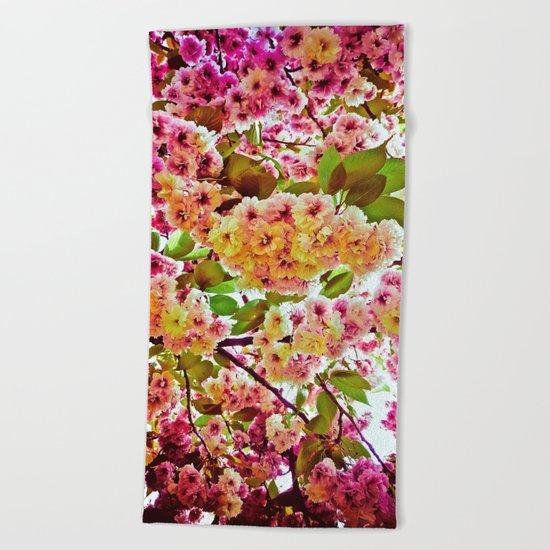 Polychrome Beauty In Full Bloom Beach Towel