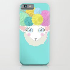 Sheepy Yarn Head iPhone 6 Slim Case