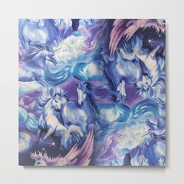UNICORN HEAVEN Metal Print