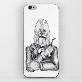 Wookie 007 iPhone Skin
