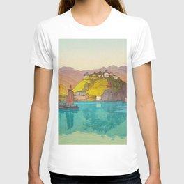 Koko (i.e. Hukow, China) Vintage Beautiful Japanese Woodblock Print Hiroshi Yoshida T-shirt