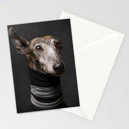 Galgo Ray - Dog portrait - Greyhound - Stationery Cards