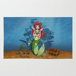 Siren's Shipwreck Rug
