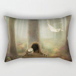 The Messenger Rectangular Pillow