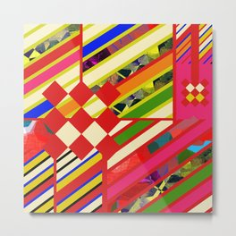 POP COLOR Metal Print