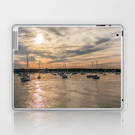 Hyannis sunset Laptop & iPad Skin