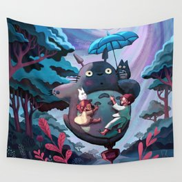 My Neighbour Totoroo Wall Tapestry