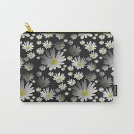 Daisies pattern as 3D texture Carry-All Pouch